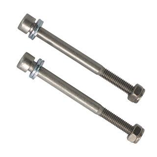 Skruv Insex M6 x 70 mm - 2 st Bredd: 6mm, längd: 70mm, Rostfri