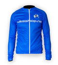 Bikeshop.no Modena Lang Sykkeltrøye Blå, Komfortabel, varm og pustende
