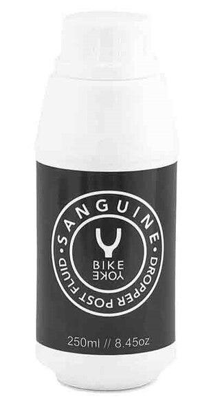 BikeYoke Sanguine Dämparolja 250 ml, För service på sadelstolpar