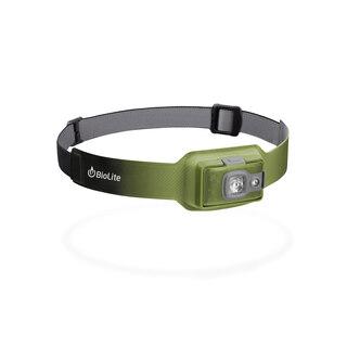Biolite HeadLamp 200 Hodelykt Grønn