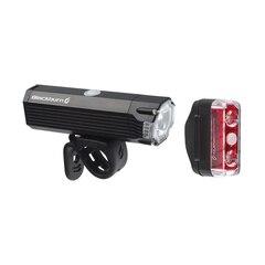 Blackburn Dayblazer 800+65 rear Lyssett Sort, 800 lumen, USB Oppladbar