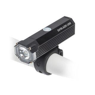 Blackburn Dayblazer 1000 Framlampa Svart, 1000 lumen, USB Oppladbar