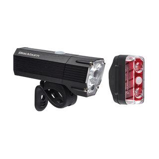 Blackburn Dayblazer 1500+65 Lyssett Sort, 1500+65 lumen, USB Oppladbar