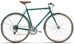 Bombtrack Oxbridge Geared Bysykkel Glossy Emerald Green, Str. S