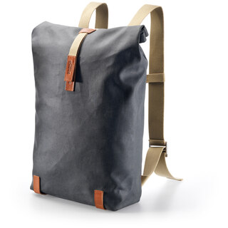Brooks Pickwick Cotton Canvas Ryggsekk 26L, Grey/honey