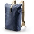 Brooks Pickwick Cotton Canvas Ryggsekk 26L, Dark Blue/Black