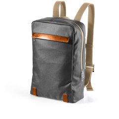 Brooks Pickzip Cotton Canvas Ryggsekk 20L, Grey/honey