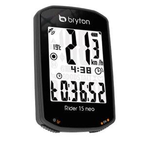 """Bryton Rider 15 Neo E GPS Computer 2"""", 21 funksjoner, 16 timer batteritid"""