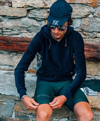 Café Du Cycliste Audax Caps Navy