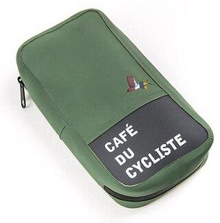 Café Du Cycliste Ride Pack Veske Green, Str. M