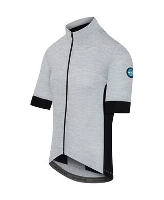 Cafe Du Cycliste Eglantine Sykkeltrøye Light Grey, Str. S