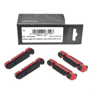 Campagnolo Dura-Ace Carbon Bremseklosser 4 stk, For carbonfiber felger, BR-BO500X