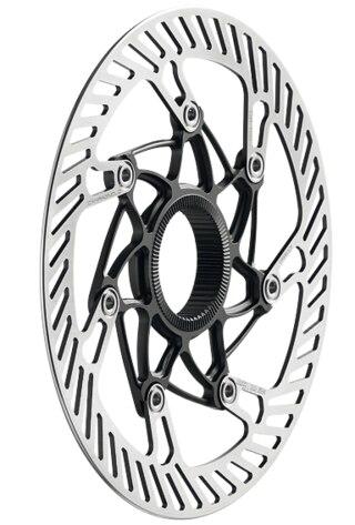 Campagnolo 03 Bremseskive Sølv, 140/160 mm, Centerlock/AFS