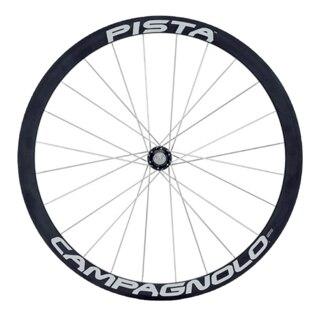 Campagnolo Pista Framhjul Sort, Pariser, Aluminium, 995g