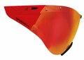 Casco SPEEDmask Carbonic Red Visir Rødt multilayervisir til Casco SPEED-