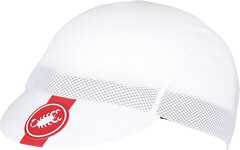Castelli A/C Sykkelcaps Hvit, Lett og pustende!