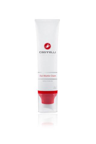 Castelli Foul Weather Hudkrem 100 ml, Beskytter mot regn og gjørme!