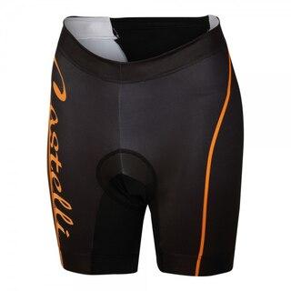 Castelli Core Tri Dame Shorts Sort/Oransje, Super triatlonshorts!