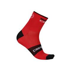 Castelli Rosso Corsa 9 Sokker Rød, Str. XXL
