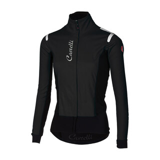 Castelli Alpha ROS Dame Sykkeljakke Light black, Str. S