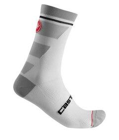 Castelli Trofeo 15 Sokker Hvit, Str. S/M