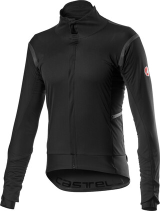 Castelli Alpha RoS 2 Sykkeljakke Light Black, Str. M