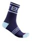 Castelli Prologo 15 Sokker Savile Blue, Str. L/XL