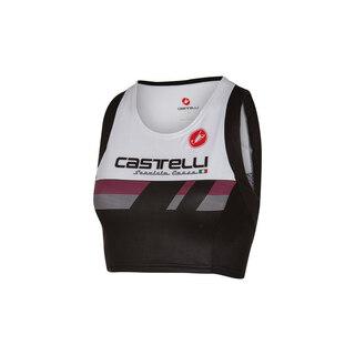 Castelli Free Tri Dame Singlet Hvit/Sort, Høy kvalitet!