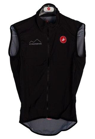 Castelli Finisher Pro Light Wind Vest Sort, Utrolig lett!