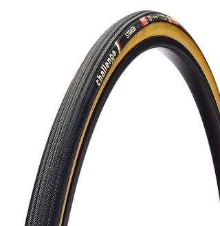 Challenge Strada Pro Dekk Sort/Brun, 700x25c, 300 TPI, 240g