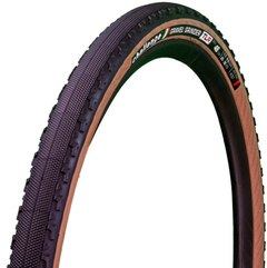 Challenge Gravel Grinder Race TLR Dekk Sort/brun, 650B x 46, 120 TPI