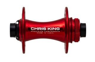 Chris King CL Boost Frontnav Röd, 32H