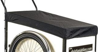 Regntrekk til Christianiabikes Passer til model Light og stor tilhenger