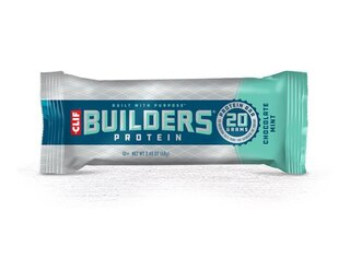 CLIF Bar Builders Proteinbar ESKE 12 x 68g, Kakao og Mint