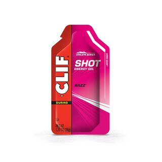 CLIF Bar Shot Energigel 34g, Bringebær