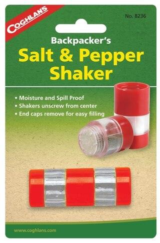 Coghlans Salt & Peppar-behållare Röd/Genomskinlig