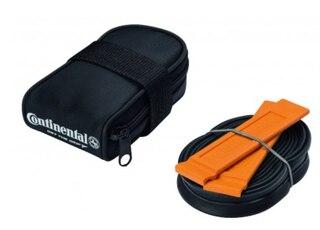 Continental Seteveske m/innhold 2 dekkspaker, Racerslange, 42 mm Presta