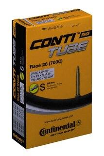 """Continental Race Wide 28"""" Slange 25-622 - 32-630, 60 mm presta, 125 g"""