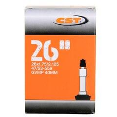 """CST 26 x 1.75-2.125"""" Slange 47/53-559 mm, 40 mm Dunlopventil"""