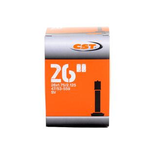 CST 26X1.75-2.125 AV Slange Butyl, MTB, 26 x 1.75/2.125, bilventil