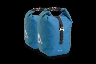 Cube Acid Travlr Pro 20/2 Packväskor Dark Blue'n' Black