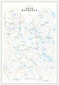 Dapa Maps Oslo/Østmarka Sykkelkart 50 x 70 cm, 1:40 000