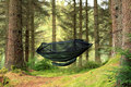 DD Hammocks Gear Sling Oliven Grønn, 120 x 100cm, 155g