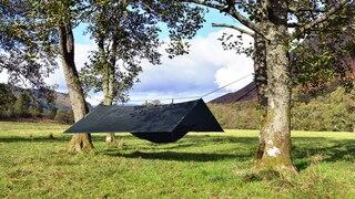 DD Hammocks Superlight Tarp Grønn, 3x2,9 m, Lett og allsidig husly