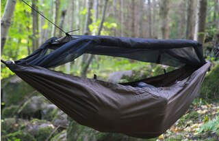 DD Hammocks Travel Hengekøye Brun, Perfekt for tursyklisten!