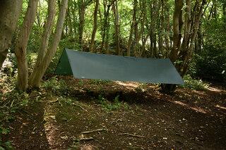 DD Hammocks Superlight Tarp Olivengrønn, XL, 4.5m x 2.9m