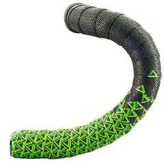 Deda Loop Styretape Sort/Grønn, Håndlaget i Italia!