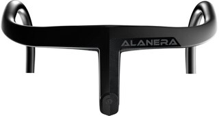 Deda Alanera DCR Landeveisstyre Sort,Integrert kabelføring, Carbon, 350g