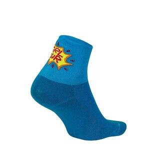 "DeFeet Aireator 3"" Dame Sokker Girl Power (Process Blue)"