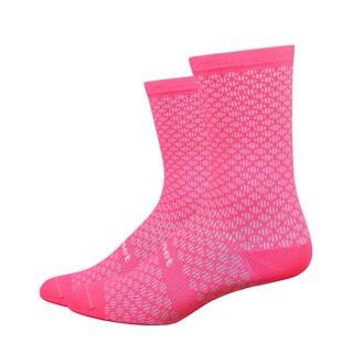 """DeFeet Evo Mont Ventoux 6"""" Sokker Rosa, Maksimal komfort!"""
